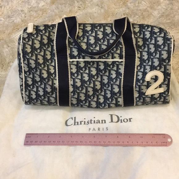 Dior Bags   Christian No 2 Tote Bag   Poshmark 797c1b5624
